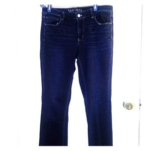 White house black market boot cut jeans